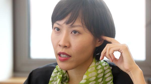 Portrait of Gina Kim