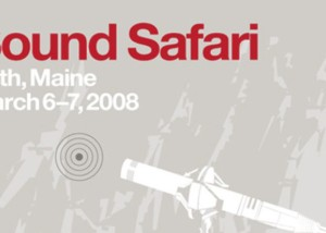 Sound Safari Poster
