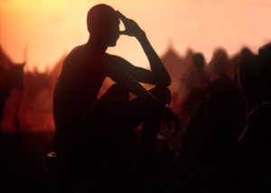 Film Still from The Nuer
