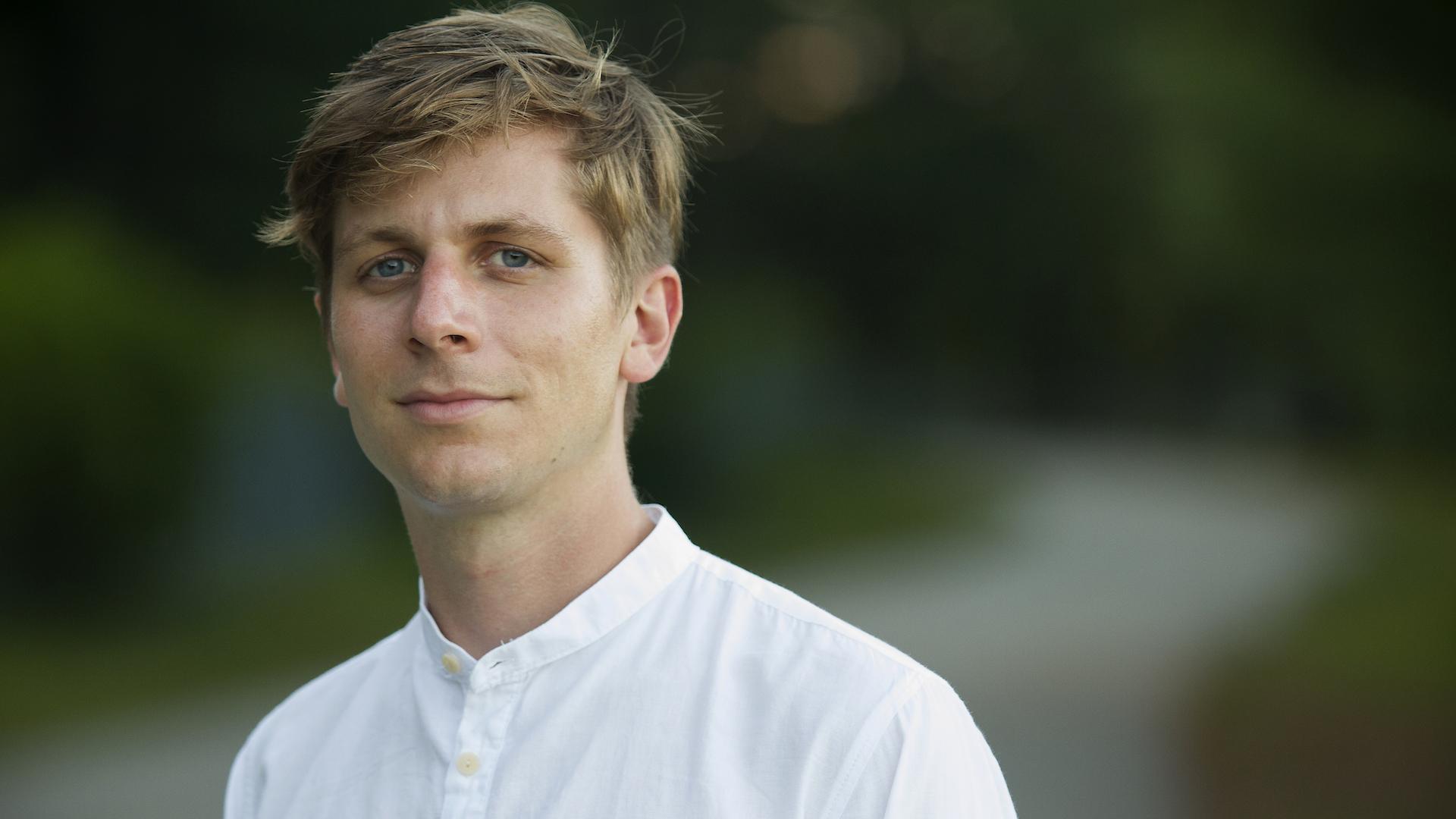 Portrait of Nathan Saucier