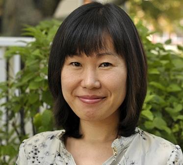 Portrait of Hyun Kyung Kim by Tony Rinaldo