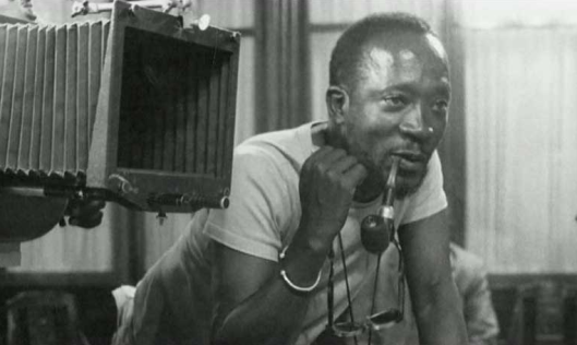Portrait of Ousmane Sembene