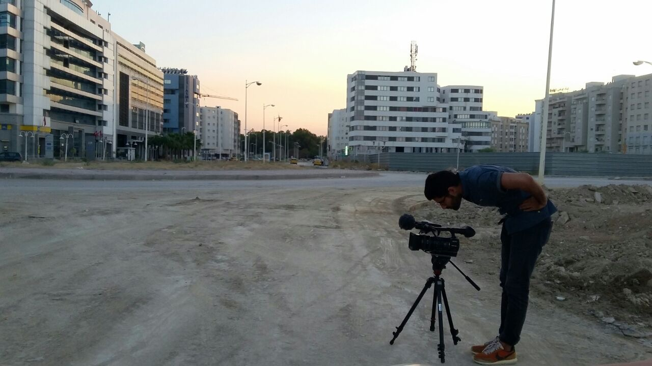 Production Still of Salmaan Mirza