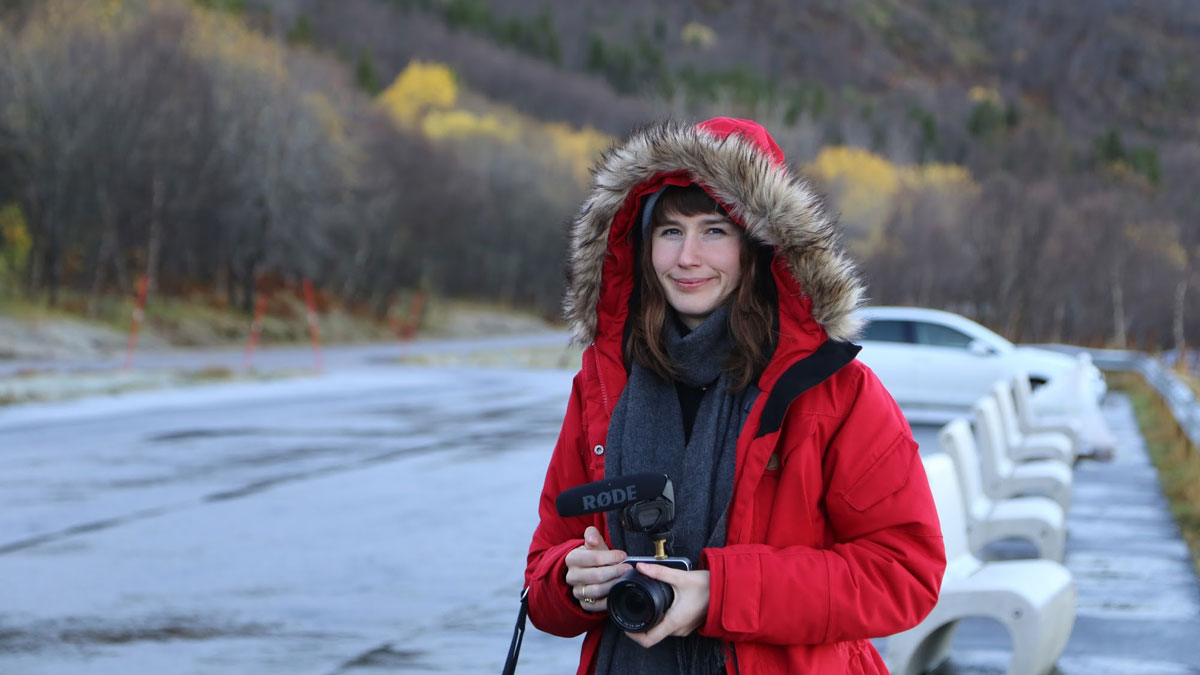Portrait of Anna Ulrikke Andersen