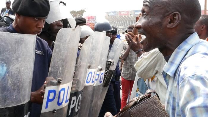 Film Still from Kinshasa Makambo