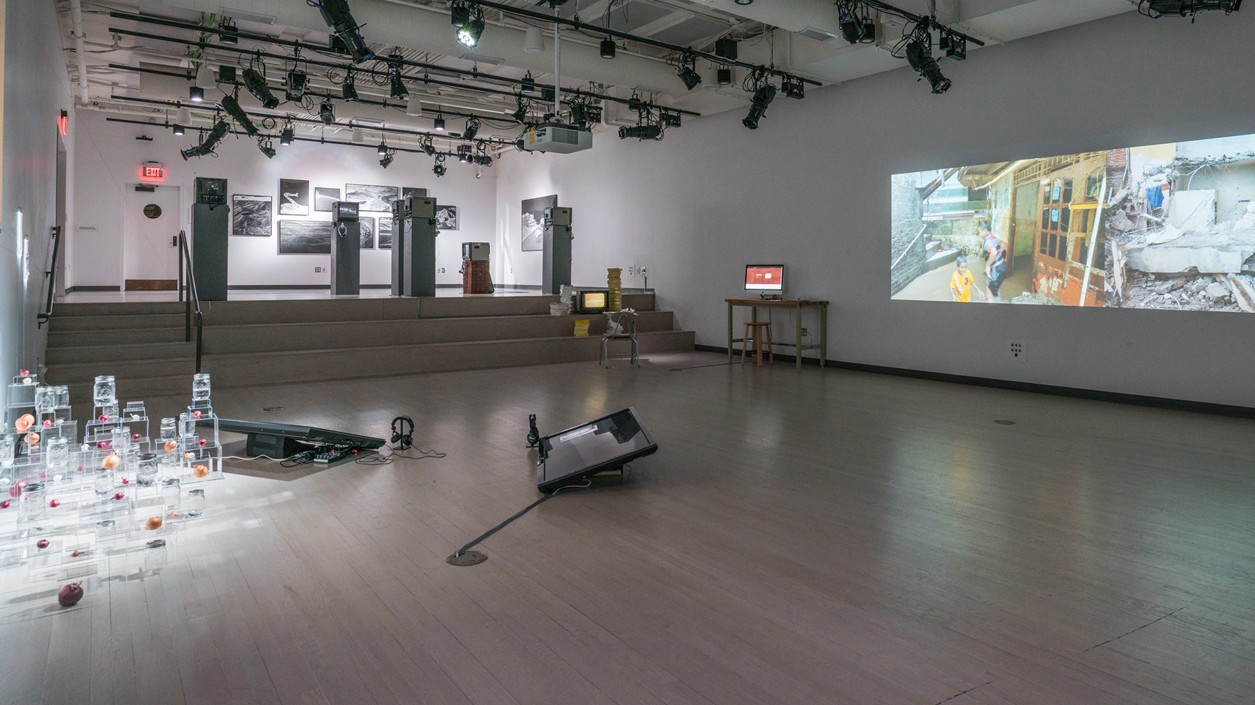 Gallery View of CMP Group Exhibition