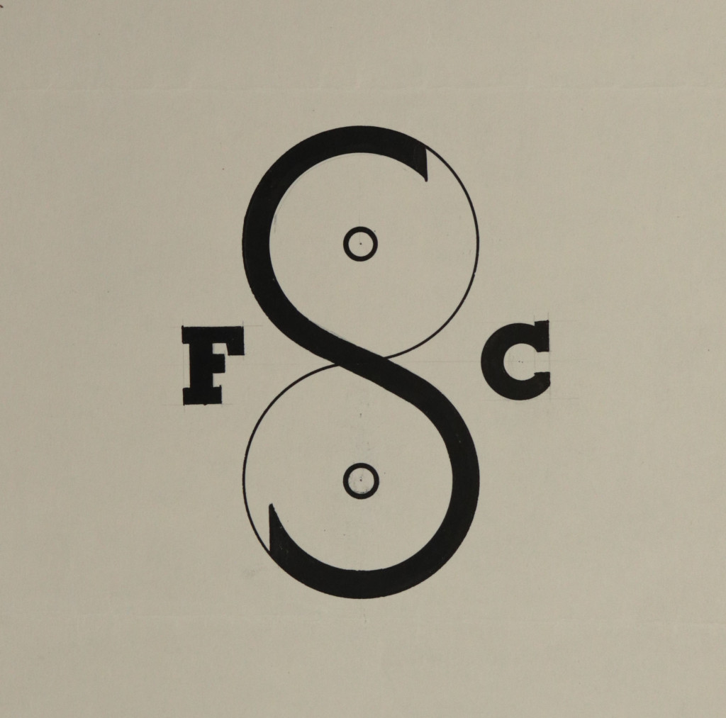 Original logo designed by György Kepes for the Film Study Center c. 1957, courtesy of the Kepes estate