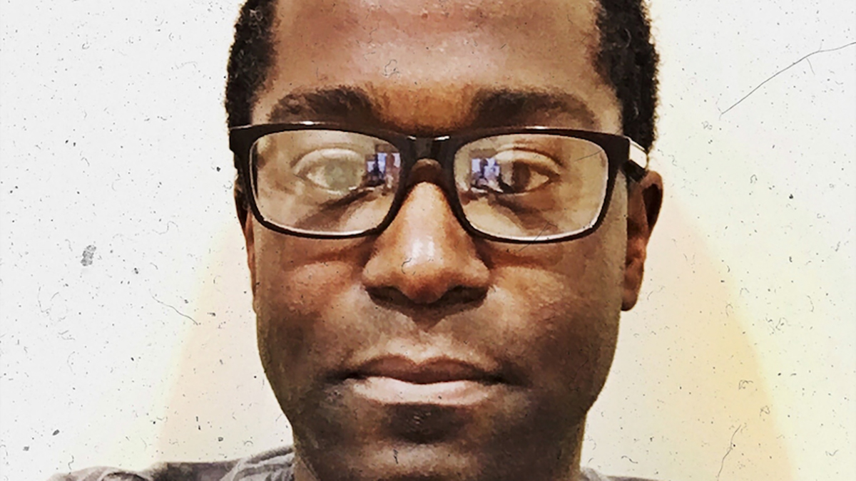 portrait of Khary Saeed Jones
