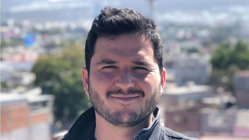 Portrait of filmmaker Chucho (Jesús) Ocampo Aguilar