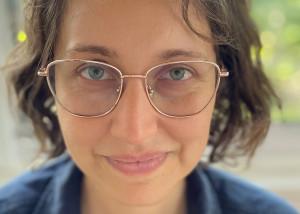 Portrait of filmmaker Kim Forero Arnias