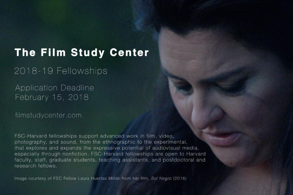 FSC Fellowship Open Call Poster