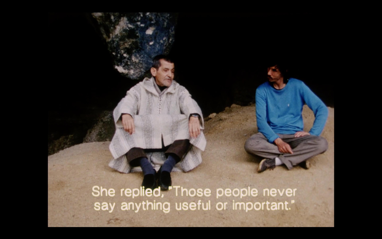 Film Still from Mohammed Mrabet
